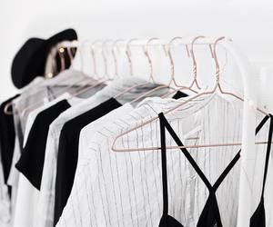 closet, minimal, and minimalist image