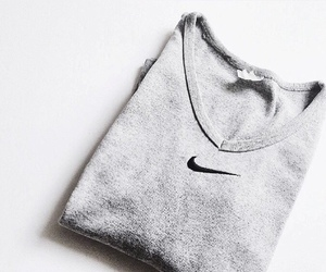 fashion, minimal, and nike image