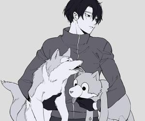 anime, yoi, and viktor nikiforov image