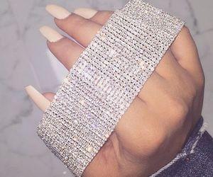 nails, luxury, and choker image
