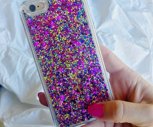 iphone case, bling iphone case, and glitter iphone case image
