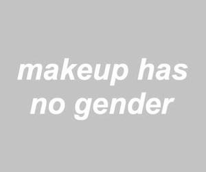makeup, gender, and equality image