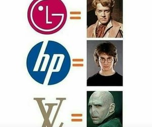 harrypotter, voldemort, and Logo image