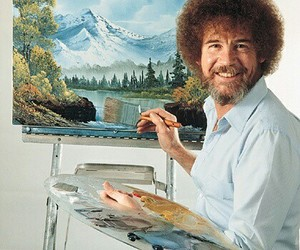 art and bob ross image