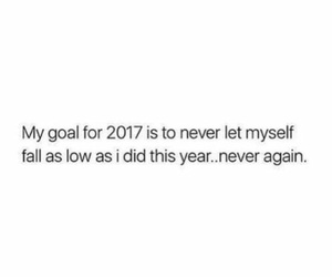 2017, quote, and goals image