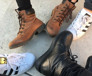 adidas, friendship goals, and fashion image