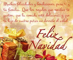 merry christmas, navidad, and feliz navidad image