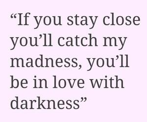 dark, Darkness, and feelings image