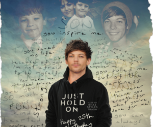louis tomlinson, louis, and just hold on image