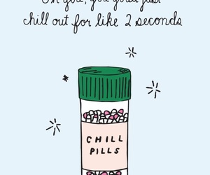 wallpaper, chill, and pills image