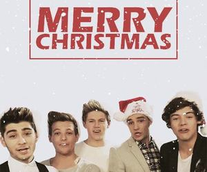 one direction, merry christmas, and 1d image