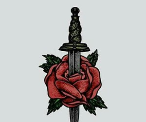 wallpaper, rose, and larry image