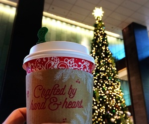 christmas, coffee, and coffee break image