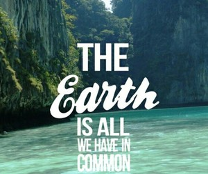 earth and quote image