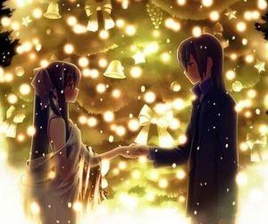anime, holiday, and christmas image