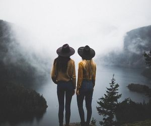 girl, friends, and photography image
