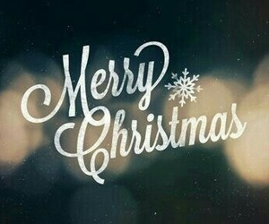 merry christmas and winter image