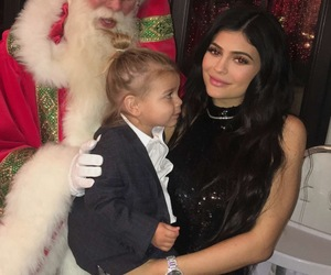 kylie jenner, christmas, and jenner image