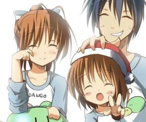 clannad, anime, and dango image