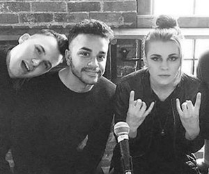 lynn gunn, brian macdonald, and pvris image