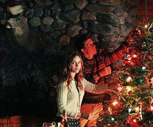 kiss, xmas, and christmas image