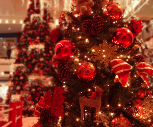 baubles, christmas ornaments, and ornaments image
