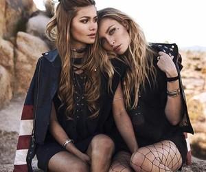 girls, models, and lina tesch image