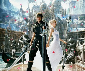 final fantasy xv, final fantasy, and noctis image