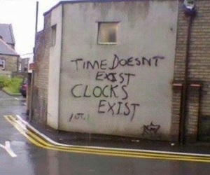time, quotes, and wall image