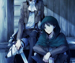 levi, anime, and shingeki no kyojin image
