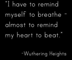 quotes, heart, and wuthering heights image
