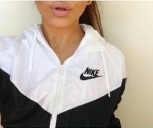 nike, black, and lips image