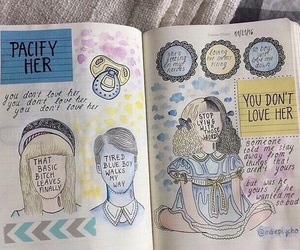 journal, draw, and melanie martinez image