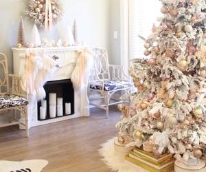 beautiful, chic, and christmas tree image