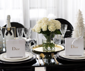 dior, christmas, and rose image