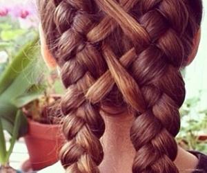 infinity pigtail braids image