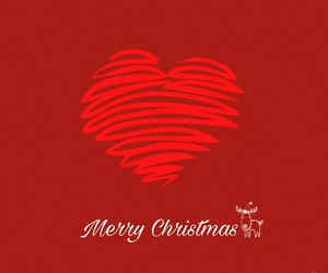 christmas, heart, and xmas image