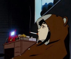 anime, lain, and serial experiments lain image