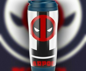 antihero, coffee, and deadpool image