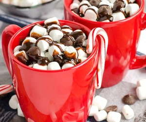 chocolate, candy, and marshmallows image