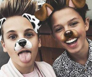 mark thomas, jacob sartorius, and jacobsartorius image