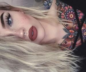 beautiful, body, and eyebrows image