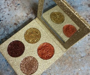 glitter, luxury, and makeup image