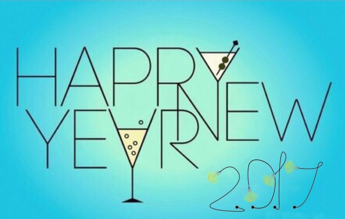 happy new year, copas, and brindis image