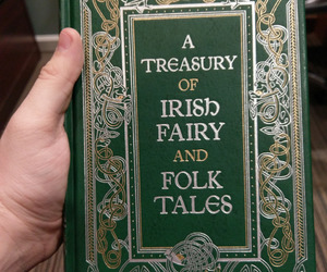 book, fairytales, and irish image
