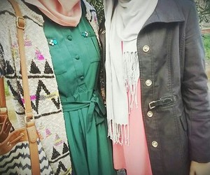 hijab fachion style look image