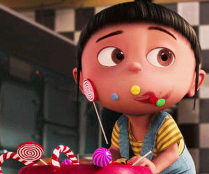 candy, cute, and little girl image