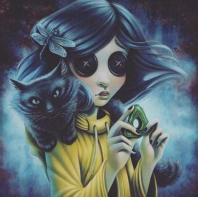 Coraline Discovered By 𝐤𝐨𝐨𝐤𝐢𝐞 𝐣𝐚𝐫 On We Heart It