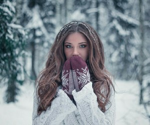 cold, girl, and style image