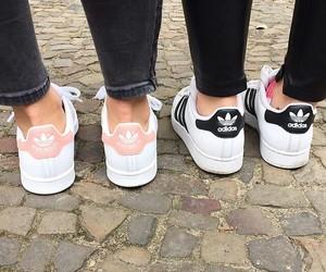 adidas, black, and girls image